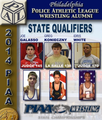 2014 PAL Wrestling State Qualifiers   group