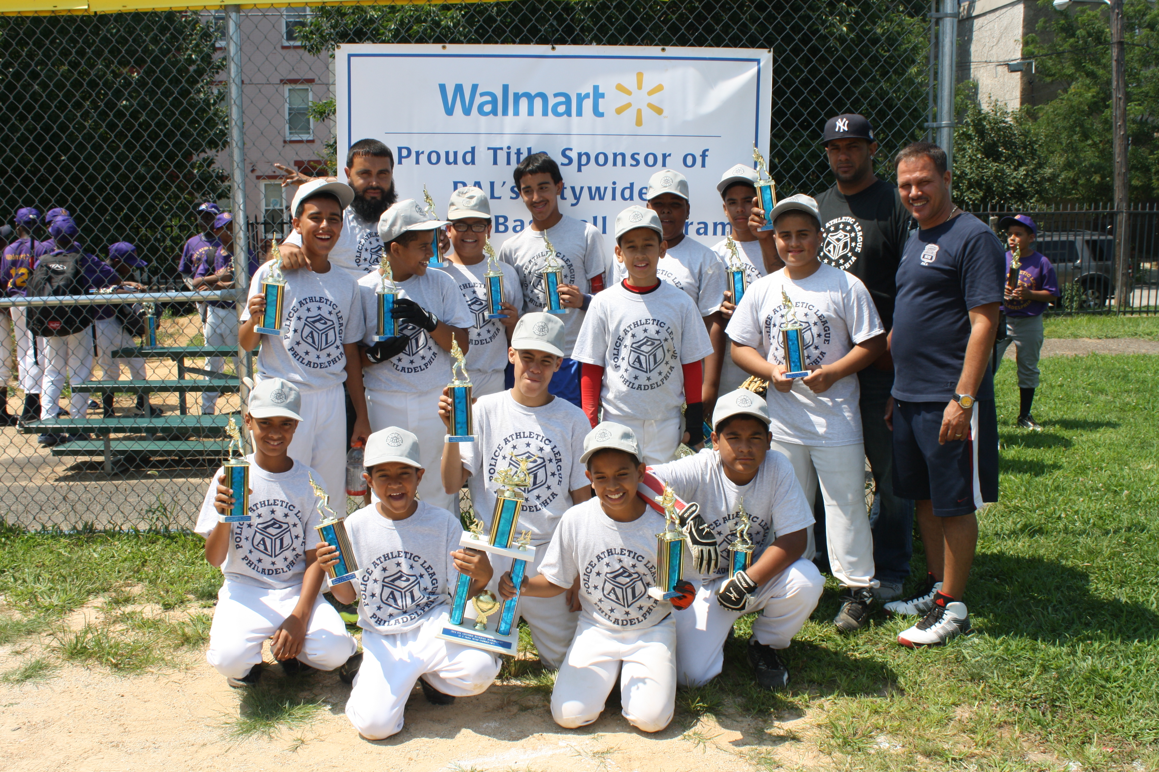 Harrowgate PAL took 2nd place in the 12-and-Under league