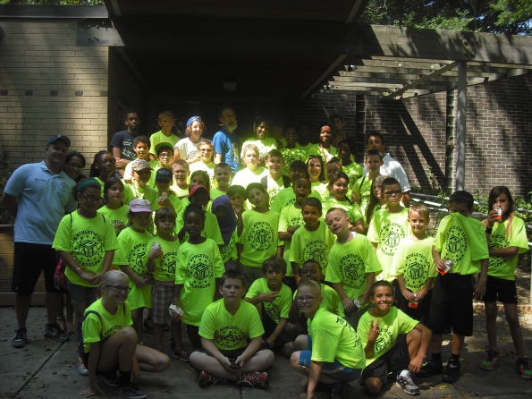 Tacony PAL Summer Camp participants
