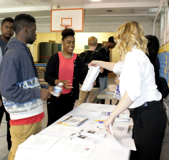 Wissinoming PAL teens received information about part-time job opportunities